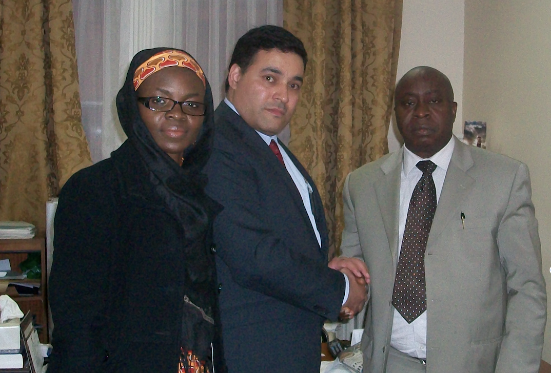 Meeting with Nigerian Minister